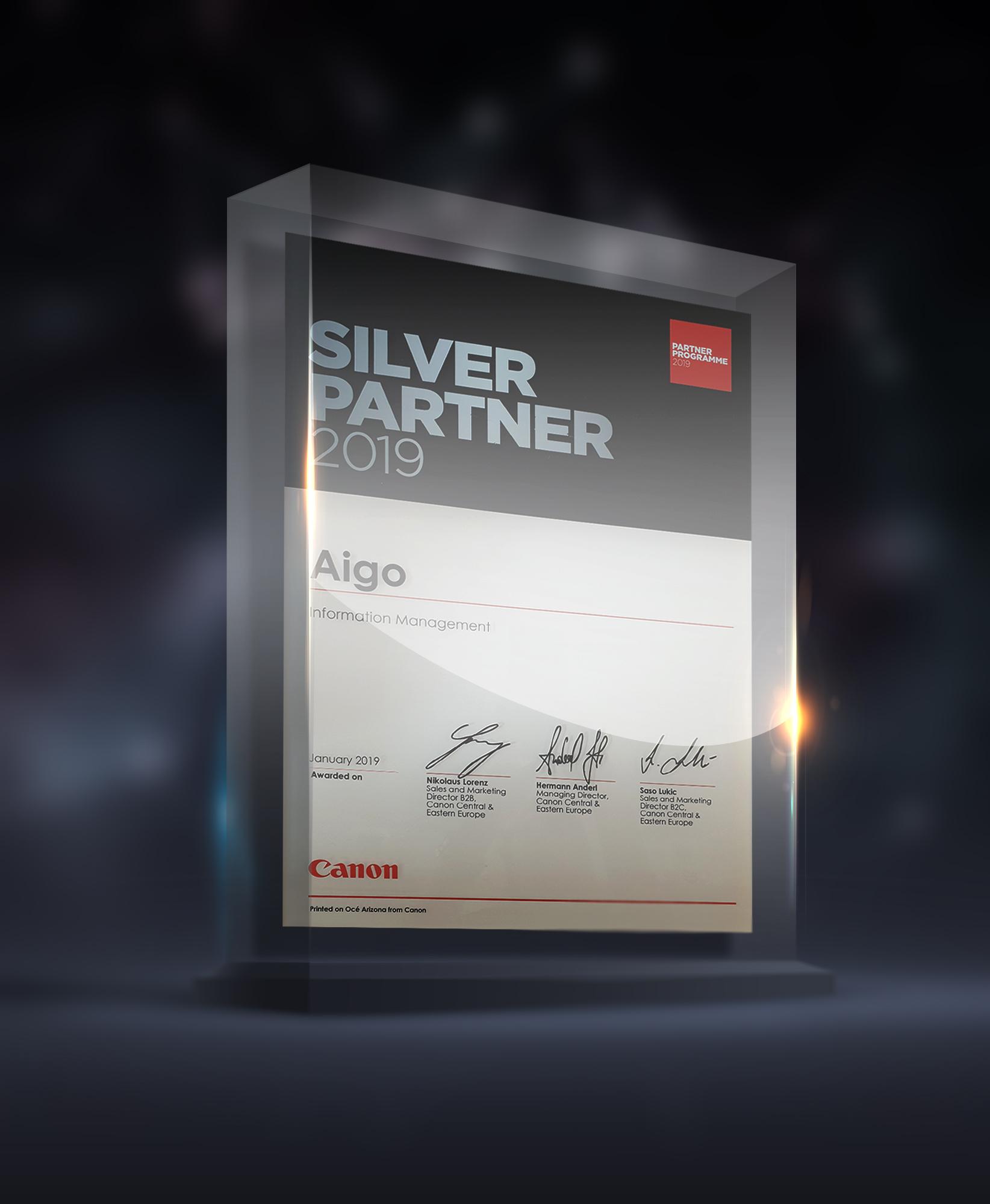 Canon Silver